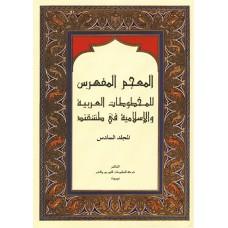 المعجم المفهرس\المجلد السادس